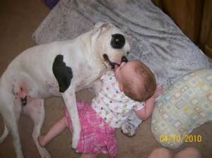 pit with baby